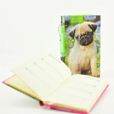 2017 A6 Personal Organiser Diary with Pen Year Planner Notes Notebook