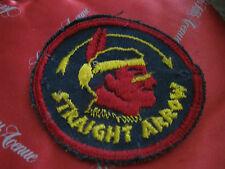 """Rare Original STRAIGHT ARROW 3"""" patch, Nabisco Radio Show 1948-51, Compare $175"""