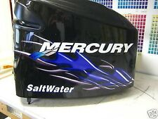 Mercury Optimax V6 90 - 250 hp Flame Bass Decal Kit
