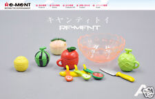 Original Fruit Plate Food Candy Toy Dollhouse Miniature Figure Rement Size