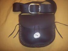 BLACK POWDER CONVERTIBLE SHOULDER STRAP AND BELT POSSIBLES BAG