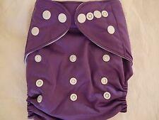 NEW Plum/Purple Cloth Pocket Diaper Microfiber Insert Boy Girl EB0910