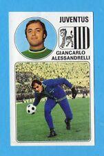 PANINI CALCIATORI 1976/77-Figurina n.162- ALESSANDRELLI - JUVENTUS -Rec