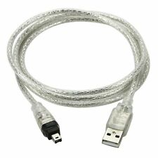 New 1.5M USB Data cable Firewire IEEE 1394 for MINI DV HDV camcorder to Edit