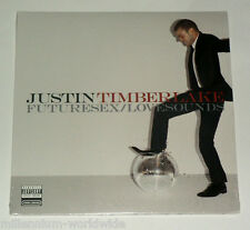 "SEALED & MINT - JUSTIN TIMBERLAKE - FUTURESEX / LOVESOUNDS - DOUBLE 12"" VINYL LP"