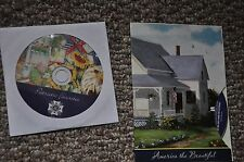 USA  PATRIOTIC AMERICANA SONG 2 cd StarSpangled Banner etc., NOTE PADS STICKERS