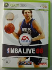 XBOX 360 game NBA Live 08, used but GOOD