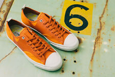 NIB $150 Converse Jack Purcell X Hancock Rally Ox Orange/Jaff 148318C US Mens 10