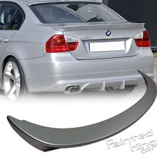 Painted Color BMW E90 3-Series A Type Rear Trunk Spoiler 2006-2011 325i 328i M3