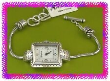 BRIGHTON SHORT HILLS Add Charm Bead Custom Your WATCH NWTag w Pouch
