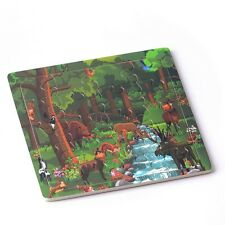 Wooden Puzzles Jigsaw Toddler Kids Child Early Learning Trees Educational Toys