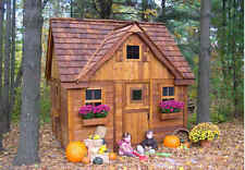 Outdoor Living Today 9X9 Lauren's Cottage Playhouse [LCP99]