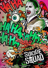 SUICIDE SQUAD - JOKER MOVIE POSTER PRINT - WALL ART - BUY 2 GET 1 FREE