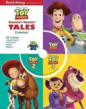 Disney Toy Story Rootin' Tootin' Tales, 3 Stories w.CD NEW