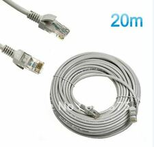 Maxicom 20M 65 Feet Meter LAN CAT5E RJ45 CORD CABLE Ethernet Patch Cable Network
