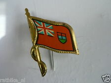 PINS,SPELDJES 50'S/60'S COUNTRY FLAGS 10 CANADA VINTAGE VERY OLD VLAG