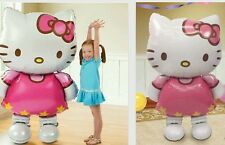 New Hello Kitty giant foil Helium Party Decoration balloon Gift Baby Toy 116 cm