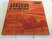 Various Artists Legends of Old-time Music  (US IMPORT)  CD / Box Set NEW