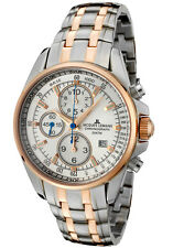 Jacques Lemans Men's Liverpool Chronograph S Steel IP-Rose TWO tone WATCH NEW