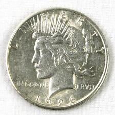 1926 P E. PLURIBUS. UNUM PEACE TYPE SILVER DOLLAR MINT $1 COIN