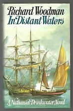 RARE/WOODMAN/IN DISTANT WATERS/MINT 1988 1st ED/HB/DW/NAVY/NAPOLEONIC WARS/SHIP