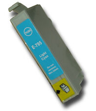 1 Light Cyan Non-OEM T0795 'Owl' Ink Cartridge with Epson Stylus PX830FWD