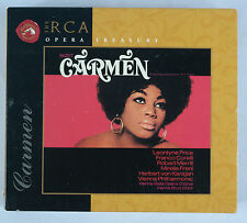 Bizet: Carmen[Complete] Price & Karajan 3CD Box Set RCA Opera Treasury