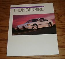 Original 1993 Ford Thunderbird Sales Brochure 93 LX Super Coupe