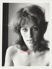 vintage photo BEAUTIFUL YOUNG WOMAN TEEN GIRL PORTRAIT AMAZING EYES c1970