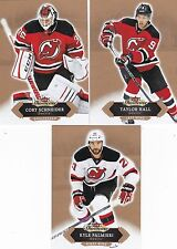 NEW JERSEY DEVILS 2016-17 16-17 FLEER SHOWCASE TEAM SET (3) HALL SCHNEIDER +