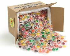Candy Creek Fruit Lollipops, Bulk Suckers 20 lb, 10 Fruit flavors, about 1200