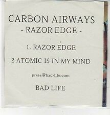 (CZ200) Carbon Airwsays, Razor Edge - DJ CD