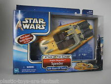 STAR WARS EP2 - Attack of the Clones - Anakin Skywalker Speeder MISB CASE FRESH