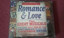 "READER'S DIGEST ""ROMANCE & LOVE"" THE GREAT MUSICALS 2 CD SET SEALD NEW OLD STOCK"