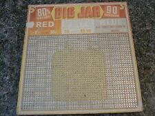 BIG JAR Punch board / Gambling/ Game Board 90 WINNERS UNPUNCHED 10 X 10 INCHES