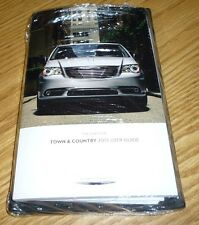 2015 CHRYSLER TOWN COUNTRY USER GUIDE MANUAL DVD w/case 15 OWNERS NEW