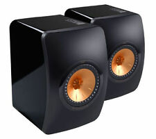 KEF LS50 Flagship Monitor Speakers Piano Black (pair) NEW!!!!!!