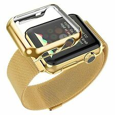 Apple Watch Series2 Full Cover Hard Metal Case & Built in Glass Screen Protector