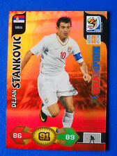 CARD ADRENALYN WORLD CUP SOUTH AFRICA 2010 - STANKOVIC - SRBIJA - CHAMPION