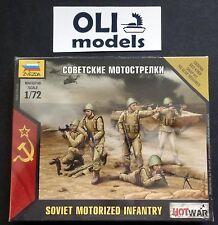 1/72 Soviet Motorized Infantry FIGURES SET - Art of Tactic HOT WAR - Zvezda 7404