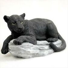 Panther on Rock Standard Figurine