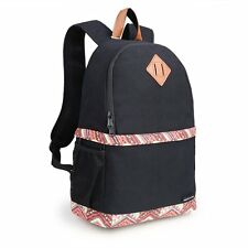Lady's Canvas DSLR Camera Case Bag Padded Insert Bag Backpack Daypack For Canon