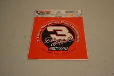 NEW Dale Earnhardt SR SPORTS IMAGE 7 TIME WINSTON CUP CHAMPION STICKER 3.5 X 3.5