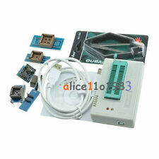 TL866CS Programmer USB EPROM FLASH BIOS 7 Adapters Socket Extractor For 13000 IC
