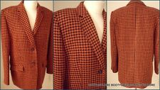 BASLER  WOOL SILK & CASHMERE CHECK FULLY LINED JACKET Size 42 UK.16 VGC