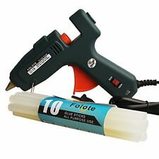 NEW 100 Watt Industrial Glue Gun High Temperature Hot Melt with10 pcs Sticks