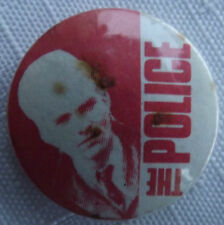 "THE POLICE Sting Vintage 70`s/80`s Button Pin Badge (25mm-1"") #TP106"
