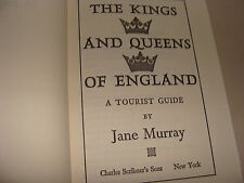 Kings and Queens of England A Tourist Guide  Murray Hc 1974