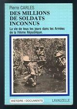 Pierre Carles La Vie de tous les jours dans les armées de la IVème République