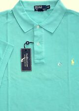 New Polo Ralph Lauren Indian Green Weathered Mesh Polo Shirt / 4XLT